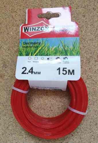 Леска 2,4*15 звезда(красный) Winzor