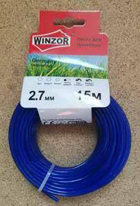 Леска 2,7*15 круг(синий) Winzor