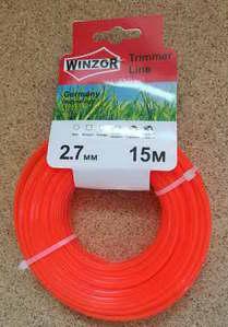 Леска 2,7*15 квадрат(оранжевый) Winzor
