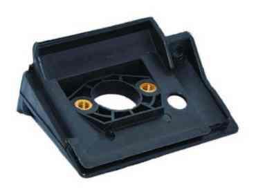 Переходник карбюратора для бензопилы 4500/5200 (стойка пластмассовая)