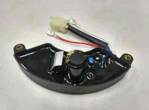 Регулятор напряжения (AVR) 5кВт для бензогенератора(1 фишка, конденсатор 470мкФ)