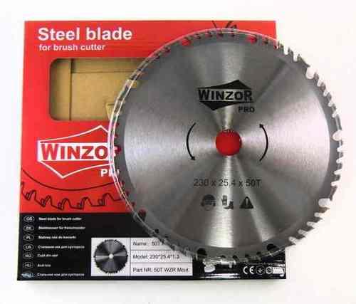 Нож для кустореза 230/1,3/50Т Winzor PRO (Mcut, победитовый)