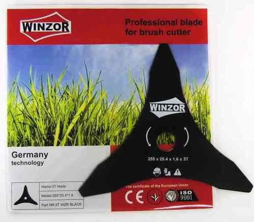 Нож для кустореза 255/1,6/3Т Winzor (Black,трехлопастной)