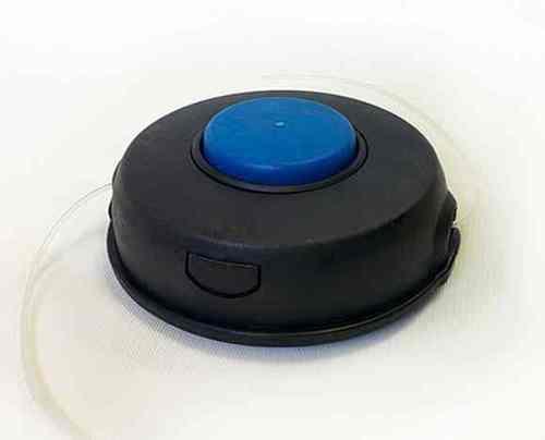 Головка для триммера 160058(М10*1,25 левая,синяя кнопка)