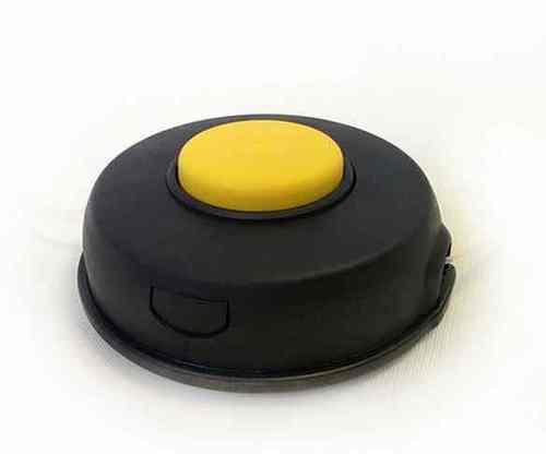 Головка для триммера 160059 (M10*1.25 левая,желтая кнопка)