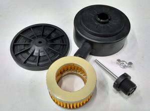 Фильтр воздушный для компрессора AE-1005-B1(резьба 1/2,фильтр.элем. D65мм,d40мм,высота 35мм)