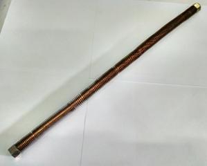 Трубка для компрессора AE-251-3(головка цилиндра/обр. клапан,длина 49,5 см)