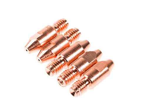 Трубка контактная Ф 1.0 мм M8х30 мм E-Cu (набор 5 шт)