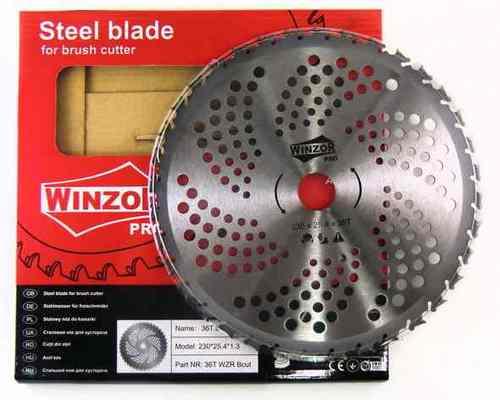 Нож для кустореза 230/1,3x36T Winzor PRO (Bcut, победитовый)