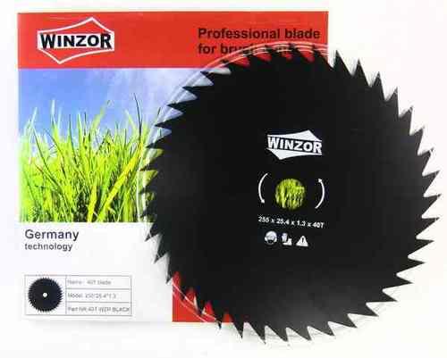Нож для кустореза 255/1,3x40T Winzor (Black)