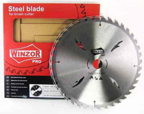 Нож для кустореза 255/1,8x40T Winzor PRO LV(победитовый)