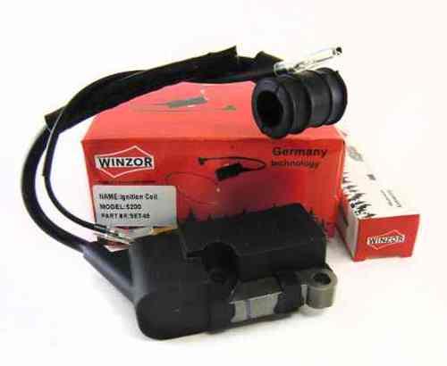 Модуль зажигания для бензопилы 4500/5200 (свеча зажигания в комплекте) Winzor
