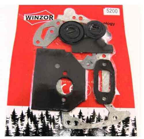 Набор прокладок двигателя для бензопилы 4500 (с сальниками) Winzor