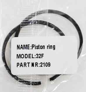 Поршневые кольца для бензокосы (триммера) 32мм (2шт)