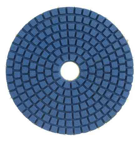 Круг шлифовальный Черепашки 300 Vertex (для полировки мрамора)