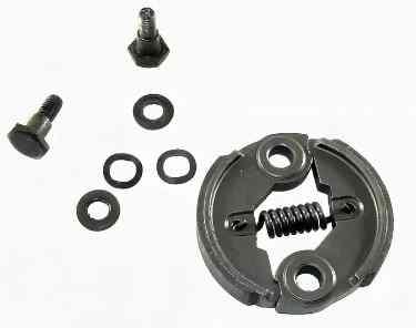 Муфта сцепления для бензокосы (триммера) 26 cc (с набором болтов и шайб)