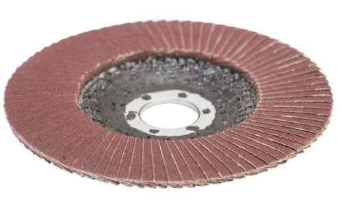 Круг лепестковый торцевой 125мм P240 Vertex