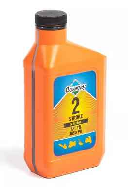 Масло COUNTRY 0,5л (для 2-х тактных бензопил/триммеров,минеральное,красное)