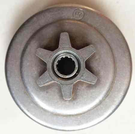 Барабан сцепления для бензопилы Oleo-mac GS35 литой (с подшипником)