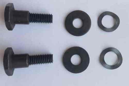 Болт крепления муфты сцепления 26 cc(комплект 2 болта+4 шайбы)