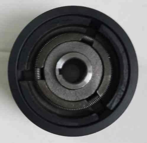 Муфта сцепления для виброплиты A115-20-5 (арт.145003)(пос.20мм,наруж.диам.115мм,1-ручейк)