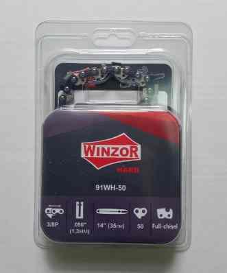Цепь 3/8-1,3-50 звеньев Winzor HARD (для ST-180/250, ПРЯМОУГОЛЬНЫЙ ЗУБ)
