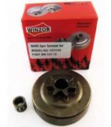 Барабан сцепления литой для бензопилы Хускварна Husqvarna 137/142  (0,325,с подшипником) Winzor