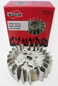 Маховик для бензопилы 4500/5200 (метал. зацепы) Winzor