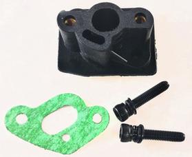 Переходник карбюратора (теплоизолятор) для бензокосы (триммера) 33cc