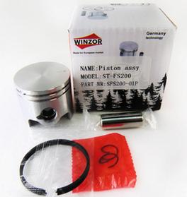 Поршень для бензокосы (триммера) Штиль Stihl FS200 (38мм) Winzor