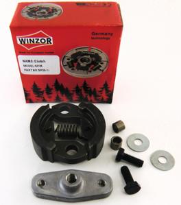 Муфта сцепления для бензокосы (триммера) Oleo-Mac Sparta 25 (набор с планкой) Winzor