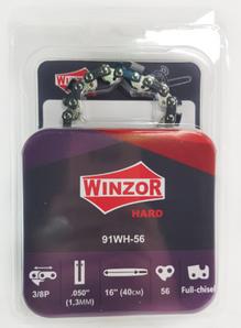 Цепь 3/8-1,3-56 звеньев Winzor HARD (для Р-350,ПРЯМОУГОЛЬНЫЙ ЗУБ)