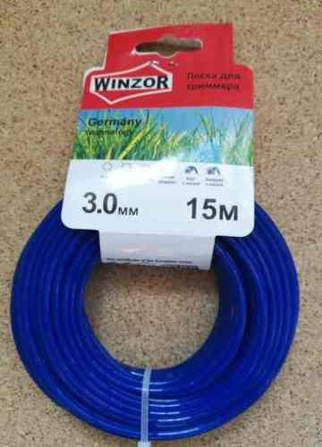 Леска 3,0*15 круг(синий) Winzor