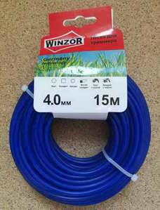 Леска 4,0*15 круг (синий) Winzor