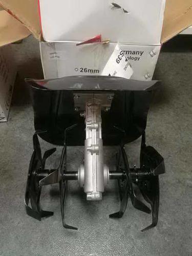 Насадка-культиватор 28мм 9шл (фрезы 4 луча цельные, щиток-металл)