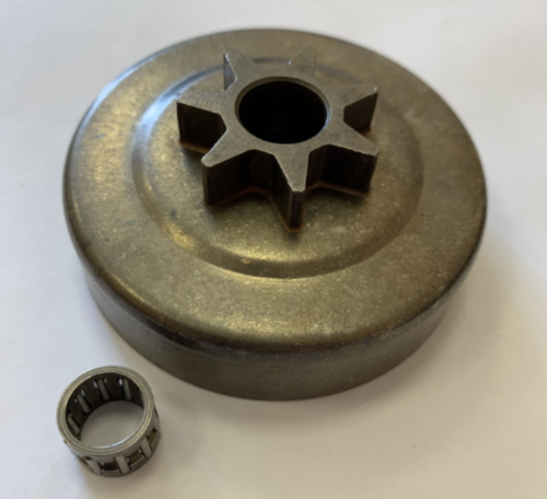 Барабан сцепления литой для бензопилы Штиль Stihl 230/250 (7 зуб,0.325 шаг)